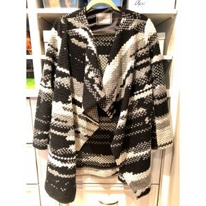 Guest Editor (Anthropologie) Knit Shawl Cardigan